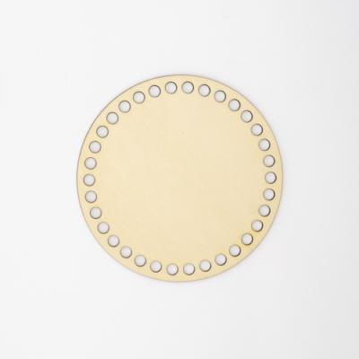Fa horgolható alap körlap 13cm