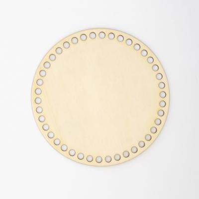 Fa horgolható alap körlap 18 cm