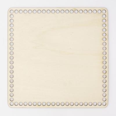Fa horgolható alap négyzet 22×22 cm