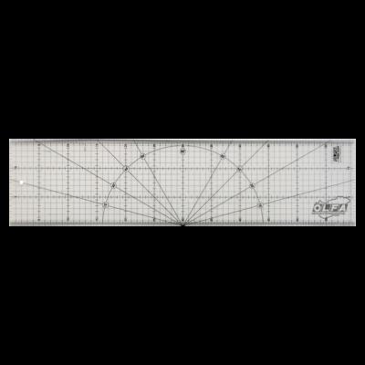 Olfa vonalzó 15x60 cm