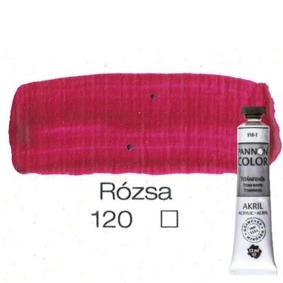 Pannoncolor akrilfesték rózsa 120 22 ml