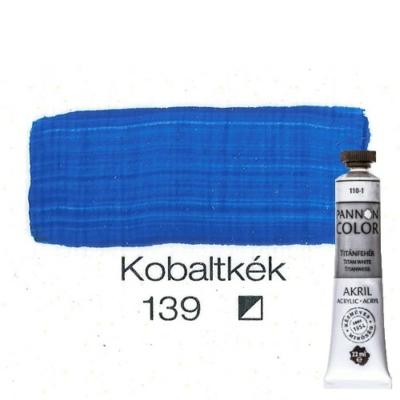 Pannoncolor akrilfesték kobaltkék 139 22 ml