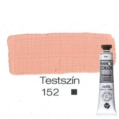Pannoncolor akrilfesték testszín 152 22 ml