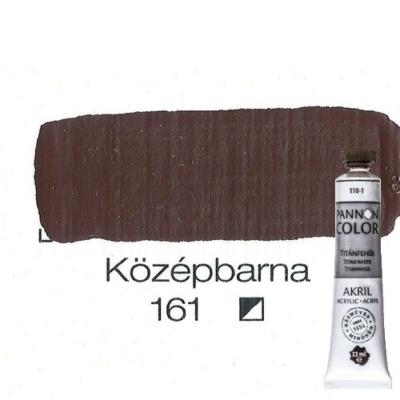 Pannoncolor akrilfesték középbarna 161 22 ml