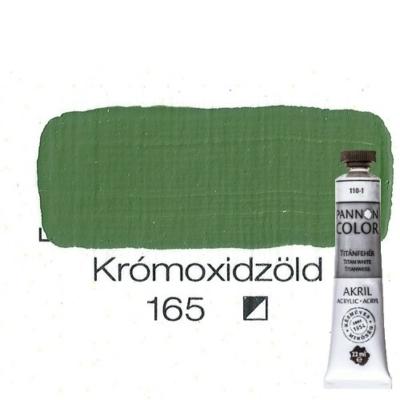 Pannoncolor akrilfesték krómoxidzöld 165 22 ml