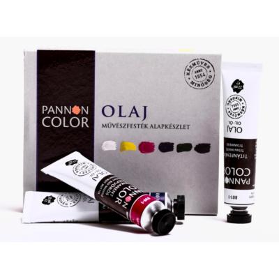 Pannoncolor olajfesték művész alapkészlet 6×22 ml 22 ml