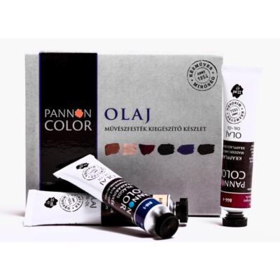 Pannoncolor olajfesték művész kiegészítő készlet 6×22 ml 22 ml
