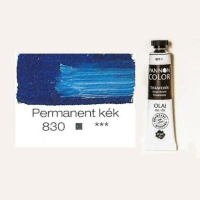 Pannoncolor olajfesték permanentkék 830 22 ml