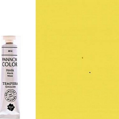 Pannoncolor tempera világossárga 18 ml