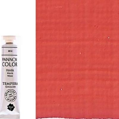 Pannoncolor tempera világos cinóber 18 ml