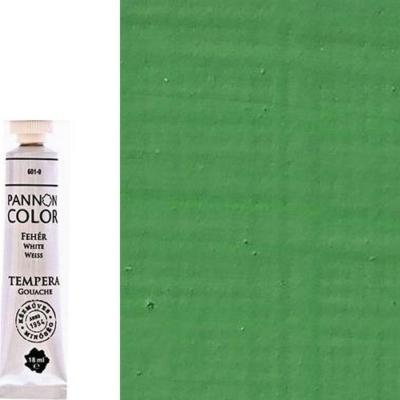 Pannoncolor tempera középzöld 18 ml
