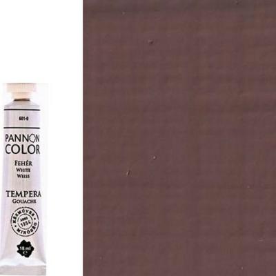 Pannoncolor tempera középbarna 18 ml