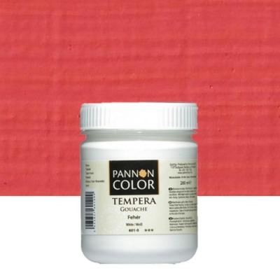 Pannoncolor tempera középvörös 200 ml