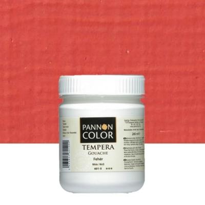 Pannoncolor tempera világos cinóber 200 ml