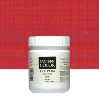 Pannoncolor tempera világoskármin 200 ml