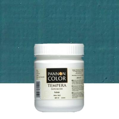 Pannoncolor tempera sötét türkizkék 200 ml