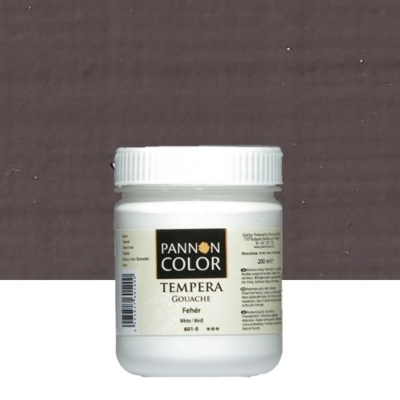 Pannoncolor tempera sötétbarna 200 ml