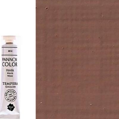 Pannoncolor tempera kakaóbarna 18 ml