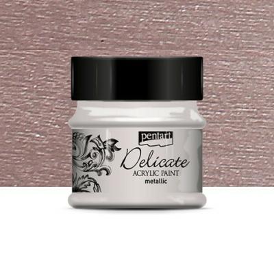 Pentart Delicate akrilfesték lilaezüst 50 ml