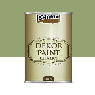 Pentart dekor soft krétafesték 1000 ml olíva