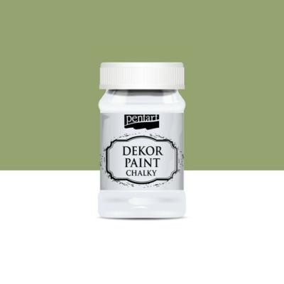Pentart dekor soft krétafesték 100 ml olíva