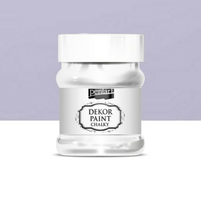 Pentart dekor soft krétafesték 230 ml világos lila