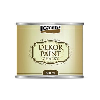 Pentart dekor soft krétafesték 500 ml fehér