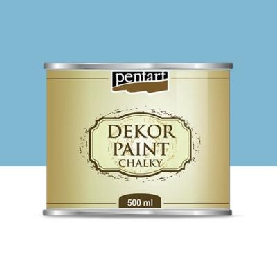 Pentart dekor soft krétafesték 500 ml lenkék