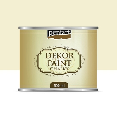 Pentart dekor soft krétafesték 500 ml elefántcsont