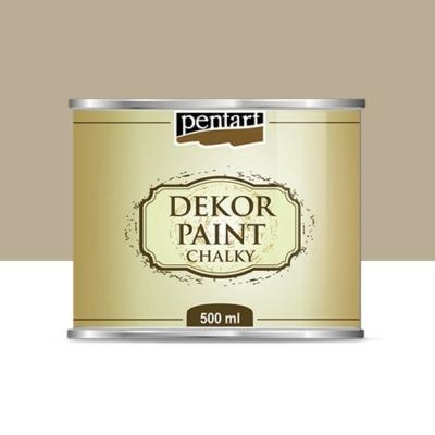 Pentart dekor soft krétafesték 500 ml cappuccino