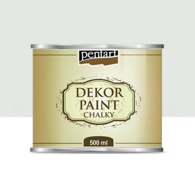 Pentart dekor soft krétafesték 500 ml krémfehér