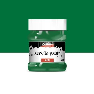 Pentart matt akrilfesték 230 ml zöld