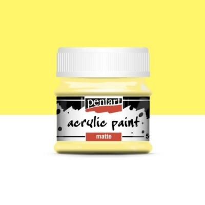 Pentart matt akrilfesték 50 ml vanília