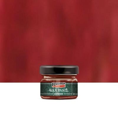 Pentart viaszpaszta piros 20 ml