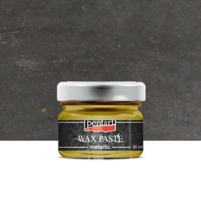 Pentart viaszpaszta metál grafit 20 ml