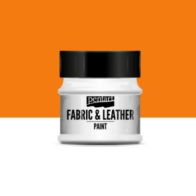 Pentart textil és bőrfesték narancs 50 ml