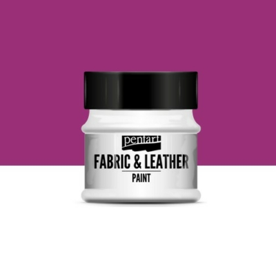 Pentart textil és bőrfesték magenta 50 ml