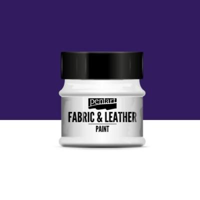 Pentart textil és bőrfesték lila 50 ml