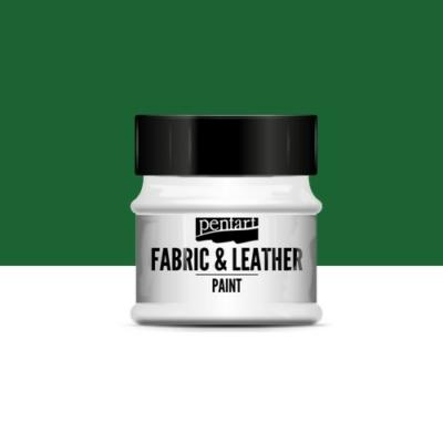 Pentart textil és bőrfesték zöld 50 ml