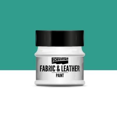 Pentart textil és bőrfesték türkizzöld 50 ml