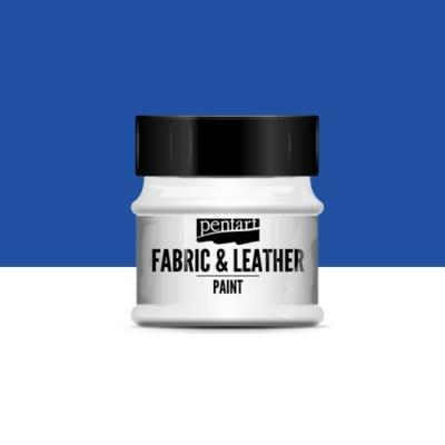 Pentart textil és bőrfesték kék 50 ml