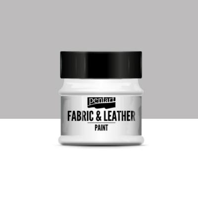 Pentart textil és bőrfesték szürke 50 ml