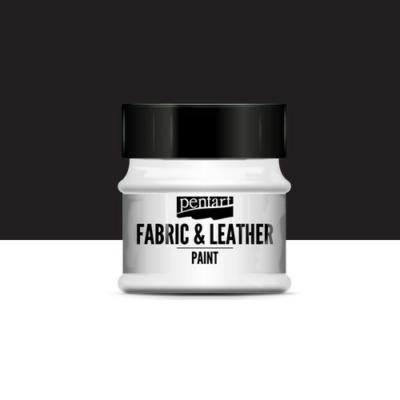 Pentart textil és bőrfesték fekete 50 ml
