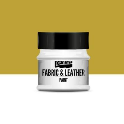 Pentart textil és bőrfesték arany 50 ml