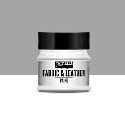 Pentart textil és bőrfesték ezüst 50 ml