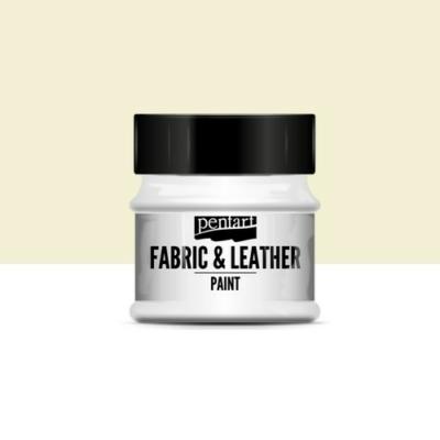 Pentart textil és bőrfesték elefántcsont 50 ml