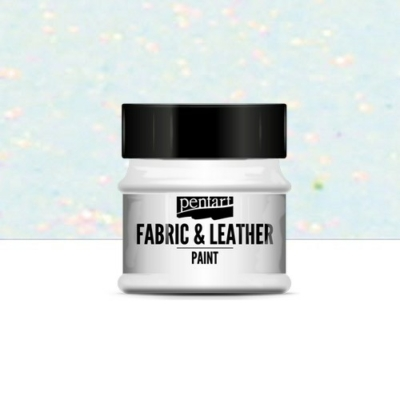 Pentart textil és bőrfesték csillogó szivárvány 50 ml
