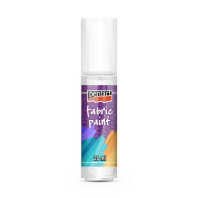 Pentart textilfesték fehér 20 ml