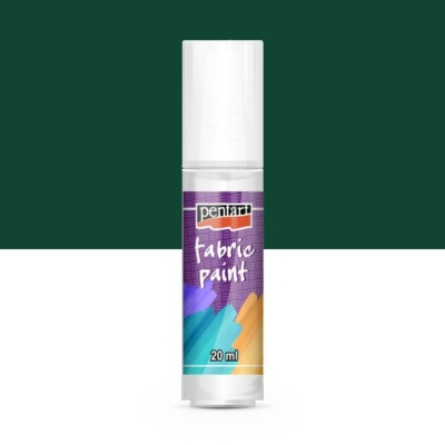 Pentart textilfesték fenyőzöld 20 ml