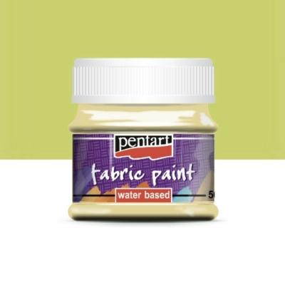 Pentart textilfesték vanilia 50 ml